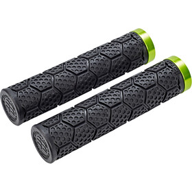 Sixpack D-Trix Grips, black/electric green